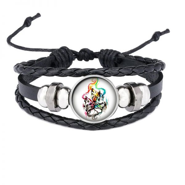 Bracelet Loup Qui Hurle motif 7