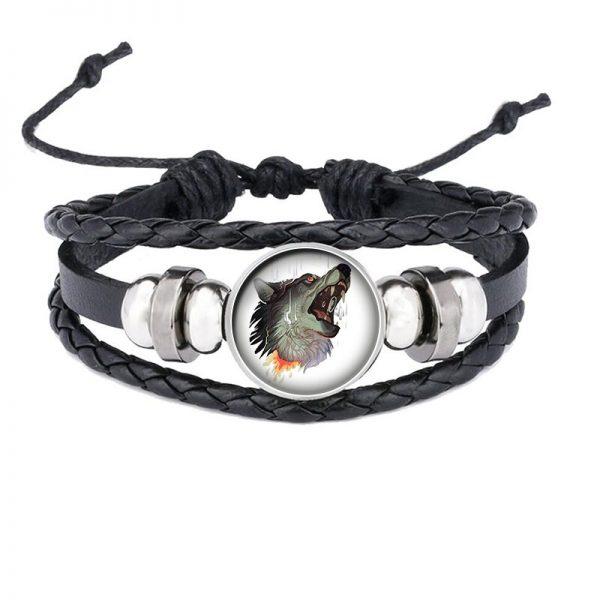 Bracelet Loup Qui Hurle motif 1