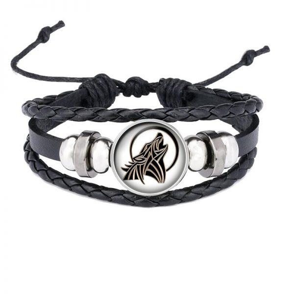 Bracelet Loup Qui Hurle motif 2