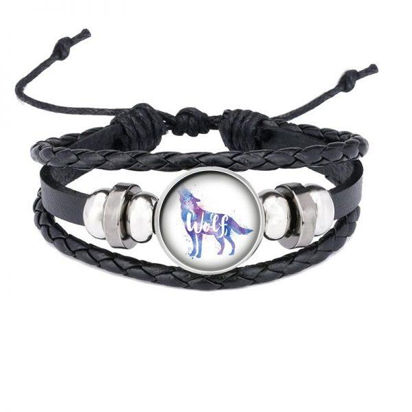 Bracelet Loup Qui Hurle motif 3