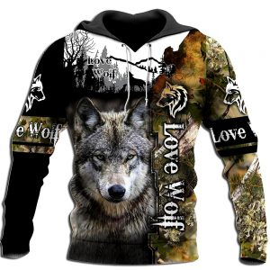 Sweat Loup Capuche