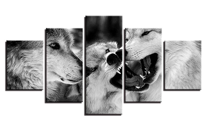 Tableau Comportement des Loups