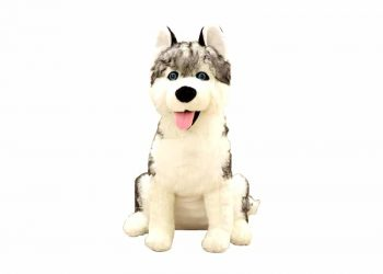 Peluche Loup Grande Taille