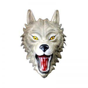 Masque Loup Gris